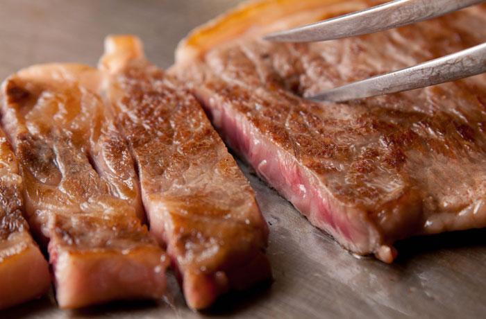 ステーキや焼肉